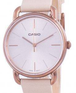 Casio Rose Gold Tone Dial Quarz LTP-E412RL-5A LTPE412RL-5 Damenuhr