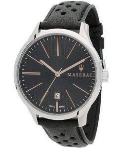 Maserati Attrazione Schwarzes Zifferblatt Quarz R8851126003 100M Herrenuhr