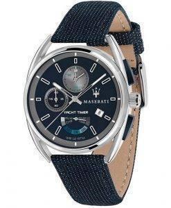 Maserati Trimarano Yacht Timer Chronograph Quarz R8851132001 100M Herrenuhr