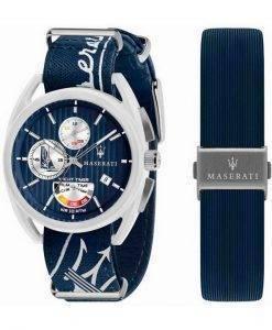 Maserati Trimarano Yacht Timer Chronograph Quarz R8851132003 100M Herrenuhr