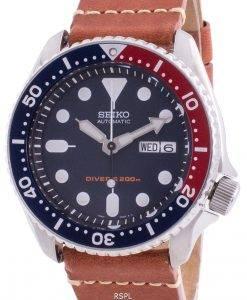 Seiko Automatic Diver Deep Blue Herrenuhr SKX009K1-var-LS21 200M