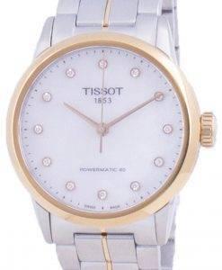 Tissot Luxury Lady Powermatic 80 Diamant Akzente Automatik T086.207.22.116.00 T0862072211600 Damenuhr