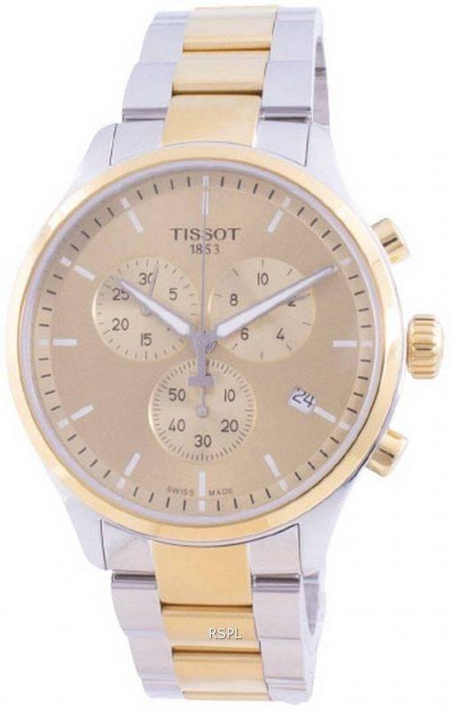 Tissot T-Sport Chrono XL Klassischer Quarz T116.617.22.021.00 T1166172202100 100M Herrenuhr