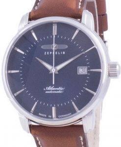 Zeppelin Atlantic Blue Dial Automatik 8452-3 84523 Herrenuhr