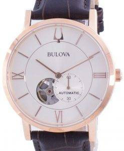 Bulova American Clipper Silver Dial Automatic 97A150 Mens Watch