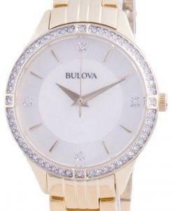 Bulova Diamond Accents Quartz 98L274 Womens Watch