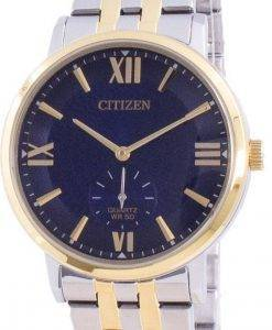 Citizen Blue Dial Stainless Steel Quartz BE9176-76L Mens Watch