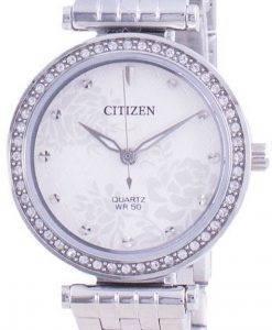 Citizen Diamond Accents Quartz ER0211-52A Womens Watch
