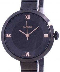Casio Analog Black Dial LTP-E154B-1A LTPE154B-1A Womens Watch