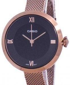 Casio Analog Black Dial LTP-E154MR-1A LTPE154MR-1A Womens Watch