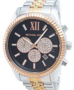 Michael Kors Lexington MK8714 Diamond Accents Quarz Herrenuhr