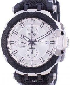 Tissot T-Race Chronograph Automatic T115.427.27.031.00 T1154272703100 100M Mens Watch