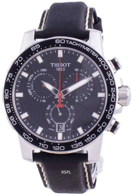 Tissot Supersport Chrono Quartz T125.617.16.051.00 T1256171605100 100M Mens Watch