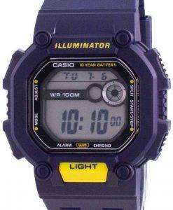 Casio Youth Illuminator Digital W-737H-2A W737H-2A 100M Mens Watch