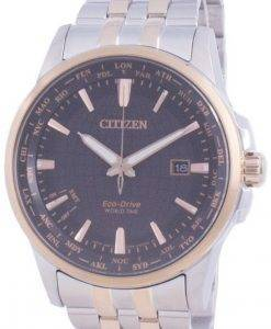Citizen World Time Ewiger Kalender Eco-Drive BX1006-85E Herrenuhr