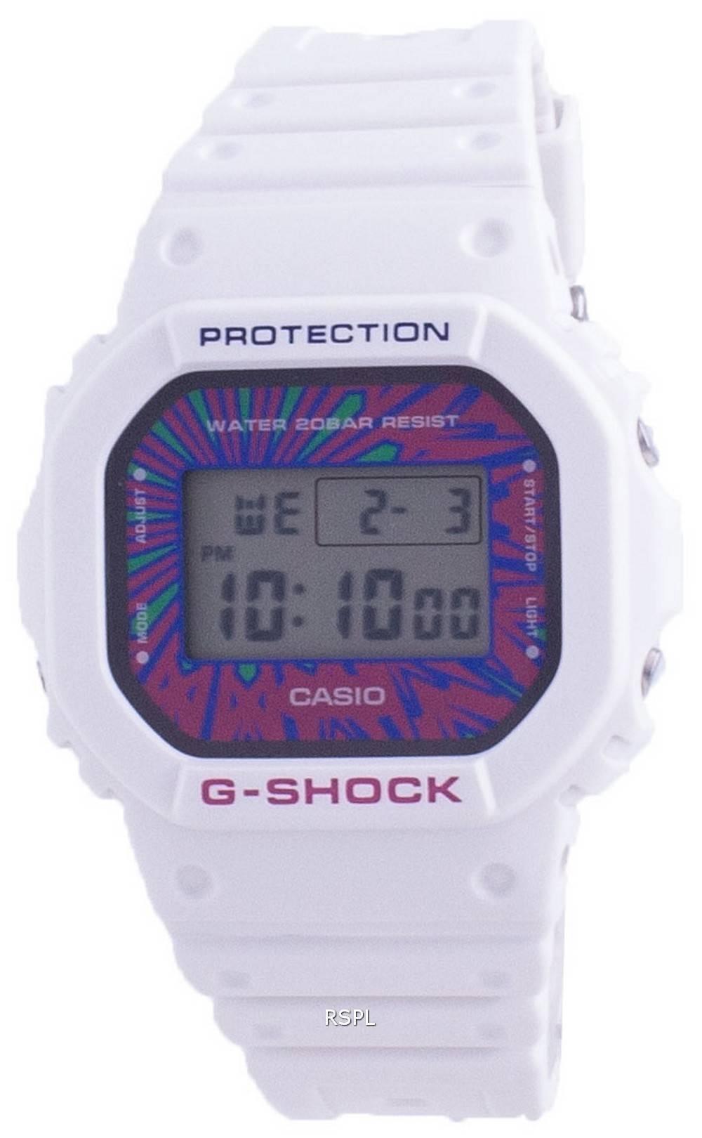 Casio G-Shock Psychedelic Sonderfarbe DW-5600DN-7 DW5600DN-7 200M Herrenuhr