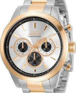 Invicta Specialty Chronograph Silber Zifferblatt Quarz 30983 100M Herrenuhr