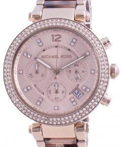 Michael Kors Parker Diamant Akzente Quarz MK6832 Damenuhr