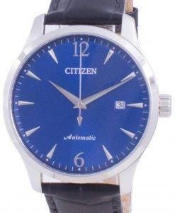Citizen Blue Dial Kalbslederarmband Mechanisch NJ0110-18L Herrenuhr