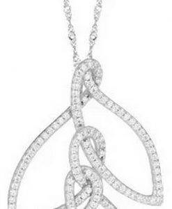 Morellato 1930 Sterling Silber SAHA04 Damen Halskette
