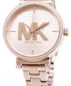 Überholte Michael Kors Sofie Diamant Akzente Quarz MK4335 Damenuhr