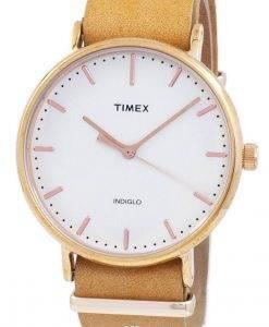 Überholte Timex Weekender Fairfield Indiglo Quarz TW2P91200 Unisex Uhr