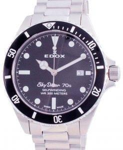 Edox Skydiver 70s Date Automatic Diver's 801123NMNI 80112 3NM NI 300M Men's Watch