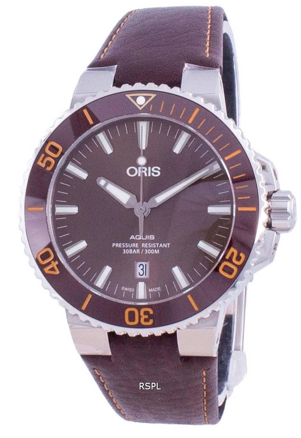 Oris Aquis Date Automatic Diver 01-733-7730-4152-07-5-24-12EB 300M Herrenuhr