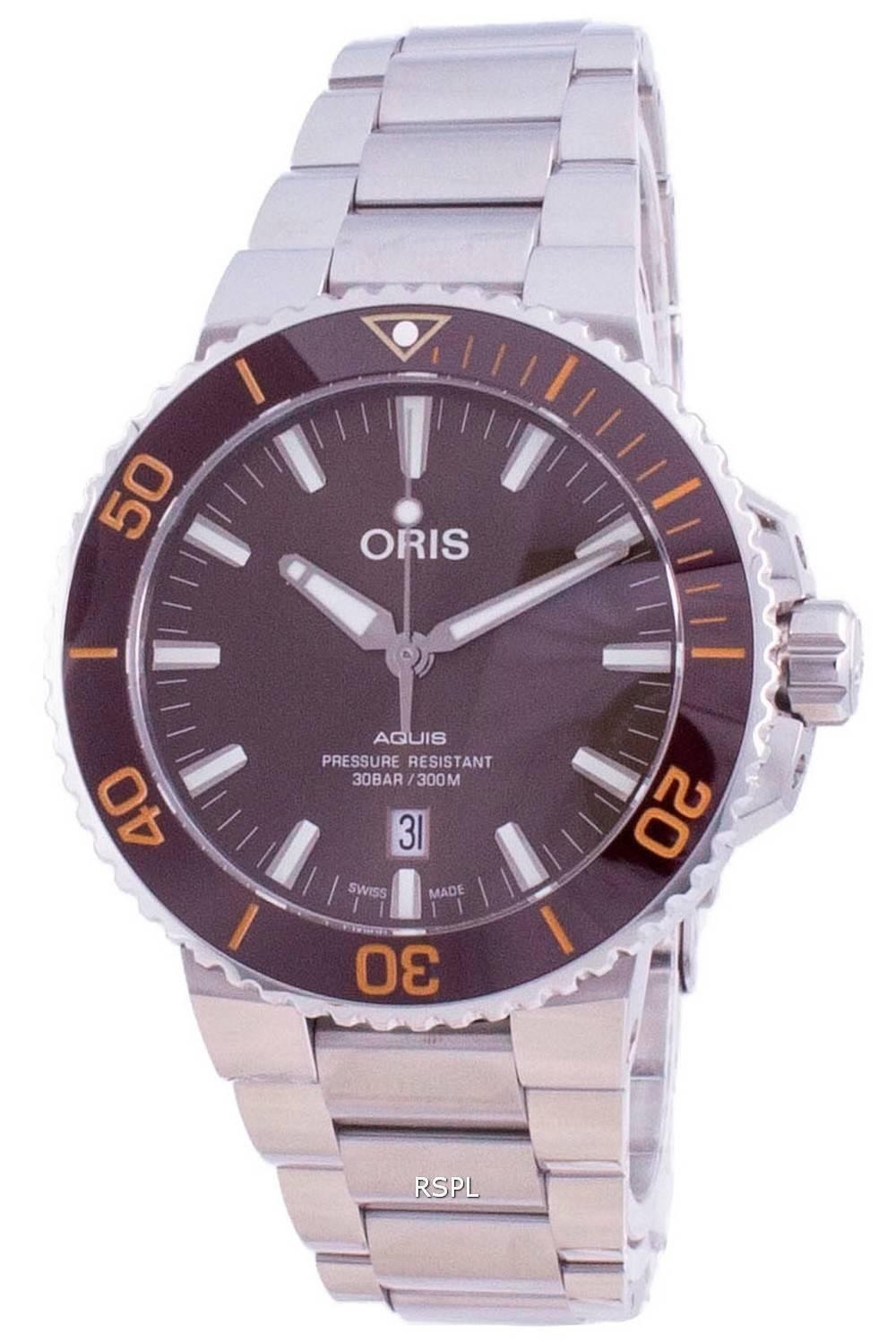 Oris Aquis Date Automatic Diver 01-733-7730-4152-07-8-24-05PEB 300M Herrenuhr