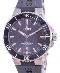 Oris Aquis Date Automatic Diver Titanium 01-733-7730-7153-07-4-24-63TEB 300M Herrenuhr