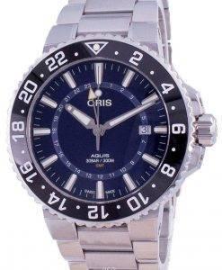 Oris Aquis GMT Datum Automatic Diver 01-798-7754-4135-07-8-24-05PEB 300M Herrenuhr