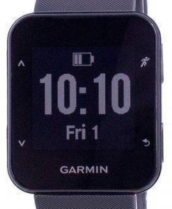Garmin Forerunner 30 Outdoor Fitness GPS Schwarzer Saphir mit schwarzem Band 010-01930-03 Multisportuhr