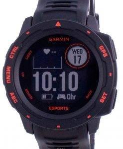 Garmin Instinct E-Sport Edition Display Outdoor Fitness GPS Schwarzes Band 010-02064-72 Multisportuhr