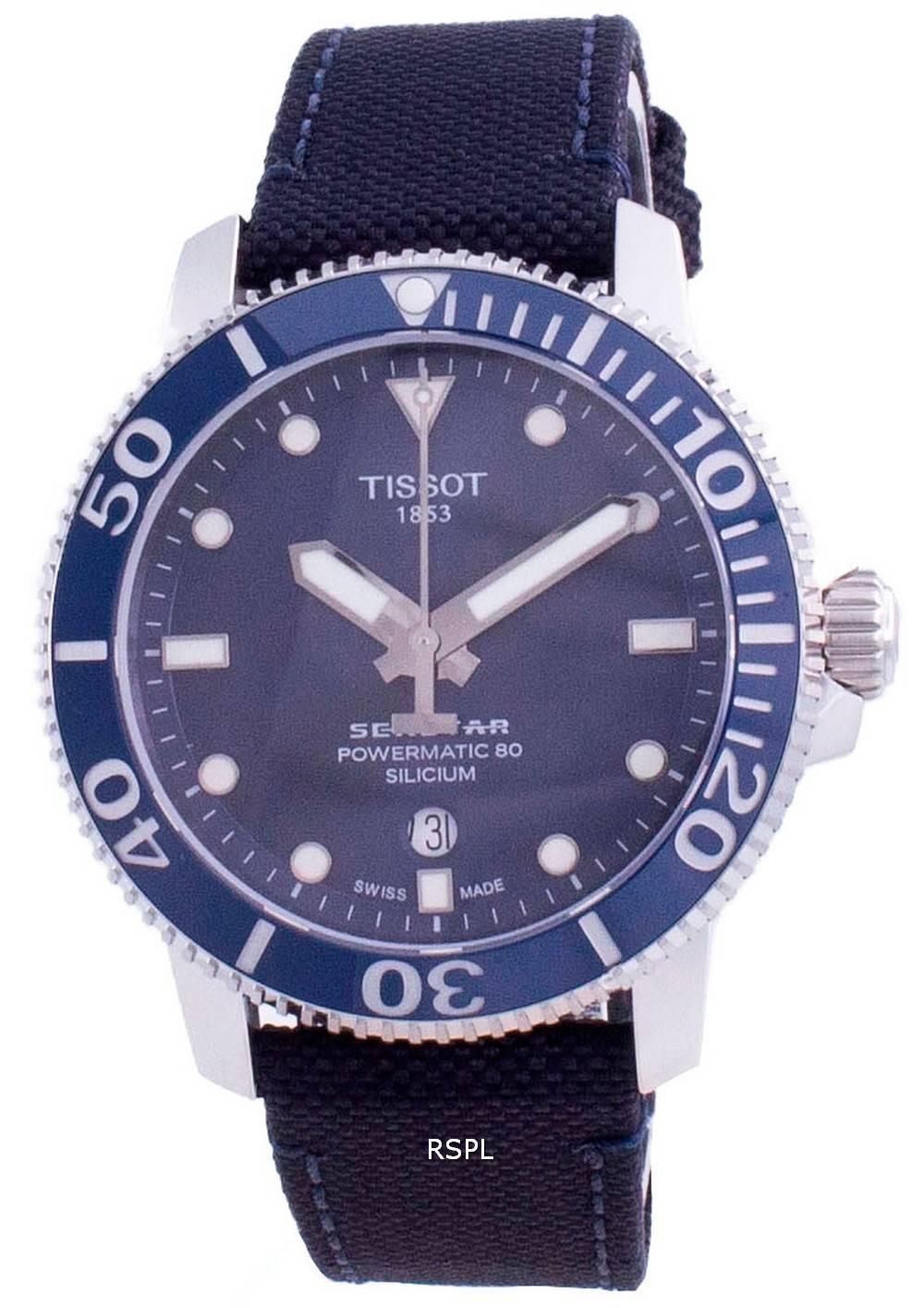 Tissot Seastar 1000 Powermatic 80 Silicium Diver T120.407.17.041.01 T1204071704101 300M Herrenuhr